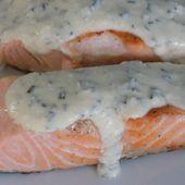 Pavé de saumon sauce citron/moutarde dukan - La cuisine de Fanie