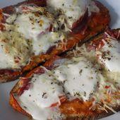 Bruschetta jambon cru/ mozzarella - La cuisine de Fanie