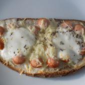 Bruschetta knackis fromage - La cuisine de Fanie