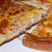 Quiche lorraine dukan - La cuisine de Fanie