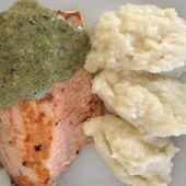 Filet de saumon et mousseline d'oseille dukan - La cuisine de Fanie