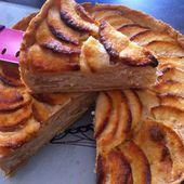 Tarte normande aux pommes - La cuisine de Fanie