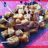 Cake salé foie gras et confiture d'oignons - La cuisine de Fanie
