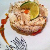 Effilochée d'ailes de raies au vinaigre de cidre et compotée de fenouil Dukan - La cuisine de Fanie