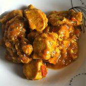 Poulet façon tarkari Dukan - La cuisine de Fanie