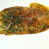 Sole meunière - La cuisine de Fanie