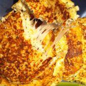 """Cauliflower grilled cheese """" burger de chou-fleur au fromage"""" Dukan - La cuisine de Fanie"""