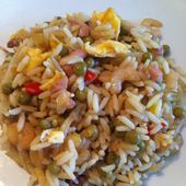 Riz cantonnais - La cuisine de Fanie