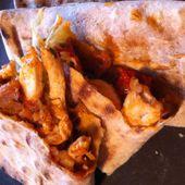 Tacos poulet et ratatouille - La cuisine de Fanie