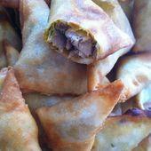 Samoussas au thon - La cuisine de Fanie