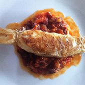 Bonbons de rouget et concassée de tomates aux cinq épices - La cuisine de Fanie