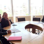 actualité: rencontre avec le Président Favier sur les dossiers du canton