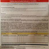 OUI à l'interdiction de se dissimuler le visage , en Suisse. Une nouvelle initiative UDC est lancée ce jour. Merci de signer et de faire signer aux citoyens suisses, les Rois de leur Patrie - VIGILANCE SUPER-SENIOR