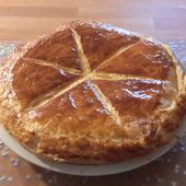 Délicieuse galette à la frangipane - Les recettes de sandrine au companion ou pas