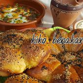 pain fleur (pain algérien ) - kiko et sa table garnie