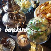 meringue française - kiko et sa table garnie