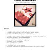 Tuto protège carnet de santé - P'titBoubouD'Couture