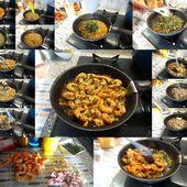 Crevettes sautées aux échalotes et herbes - A Notre Sauce