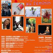 UNE JOURNÉE AU FEMININ DIMANCHE 12 MARS DE 10h00 à 18h30