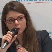 Sophie Rauszer invitée de la RTBF - Lundi 24 avril 2017 - France Insoumise - Benelux