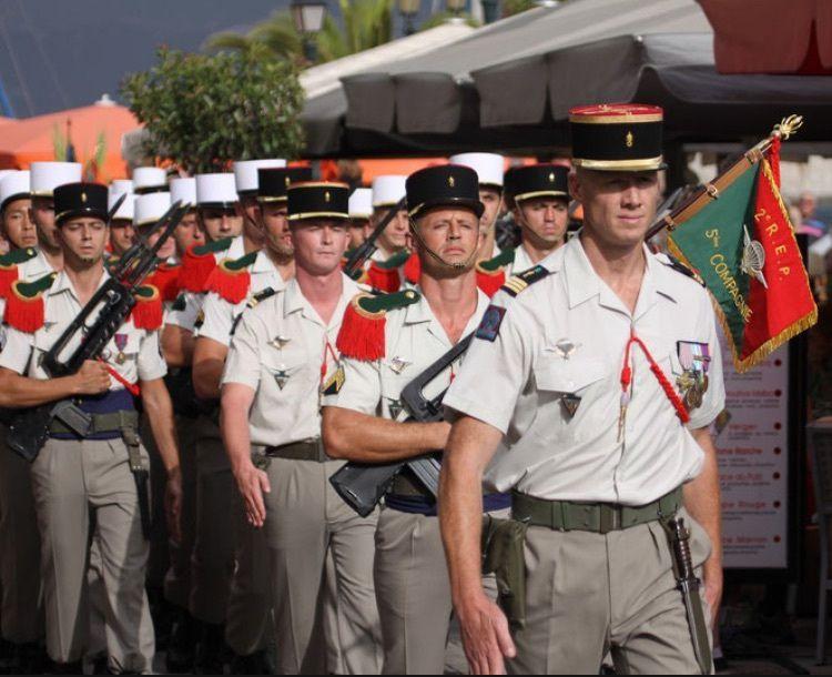 Le 2e REP a fêté Saint-Michel avec la population au cœur de Calvi