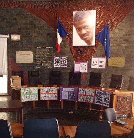 Les 2ASSP1 au Conseil général de Mayotte