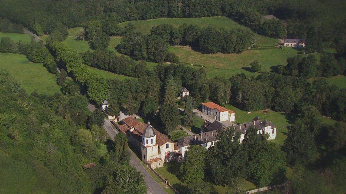 L'abbaye de l'Escaladieu ( commune de Bonnemazon  Hautes-Pyrénée )