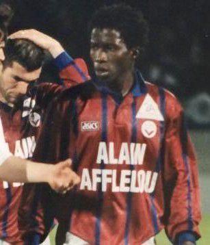 Joachim Fernandez, ici aux côtés de Zinédine Zidane