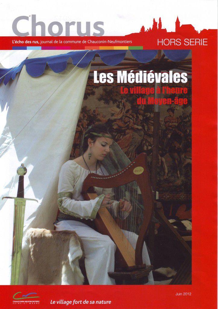 """Chorus """"l'écho des rus, journal de la commune de Chauconin-Neufmontiers"""" Hors série 06/2012"""