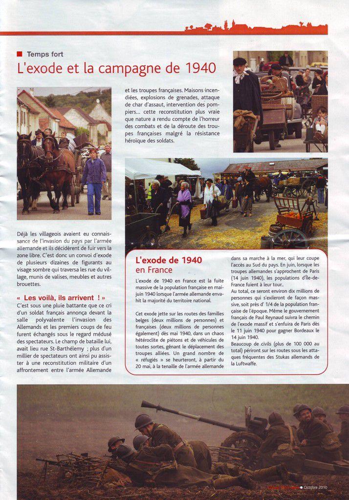 """Chorus """"l'écho des rus, journal de la commune de Chauconin-Neufmontiers"""" Hors série 10/2010"""