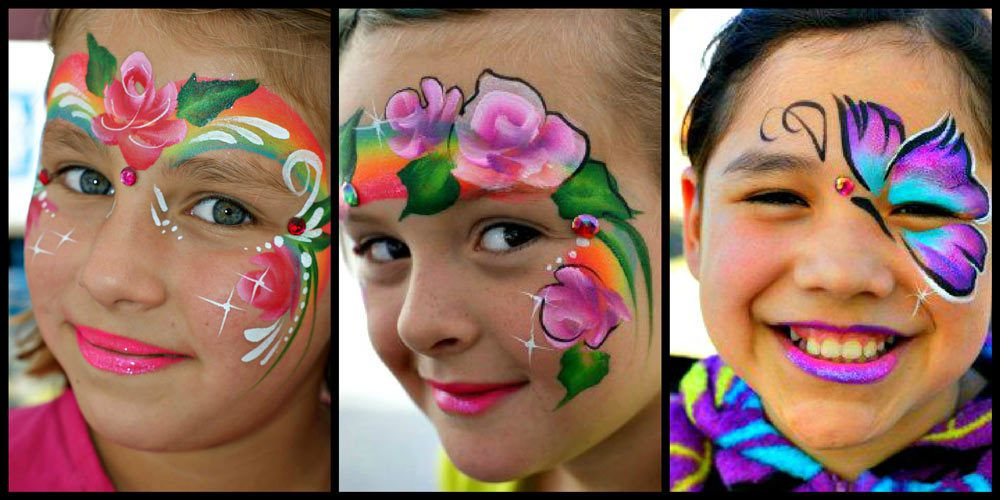 Where to find face painting supplies if you are new to for Face paints supplies