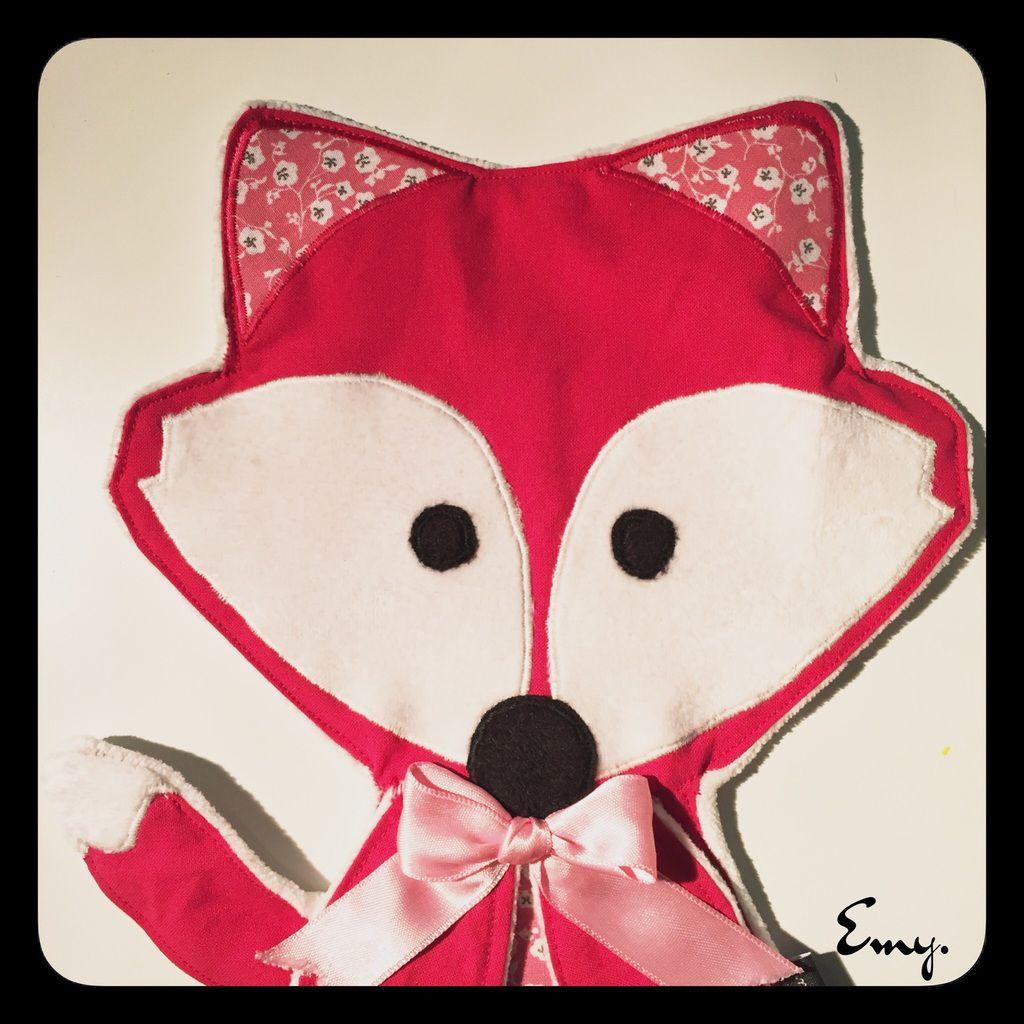Le renard rose!