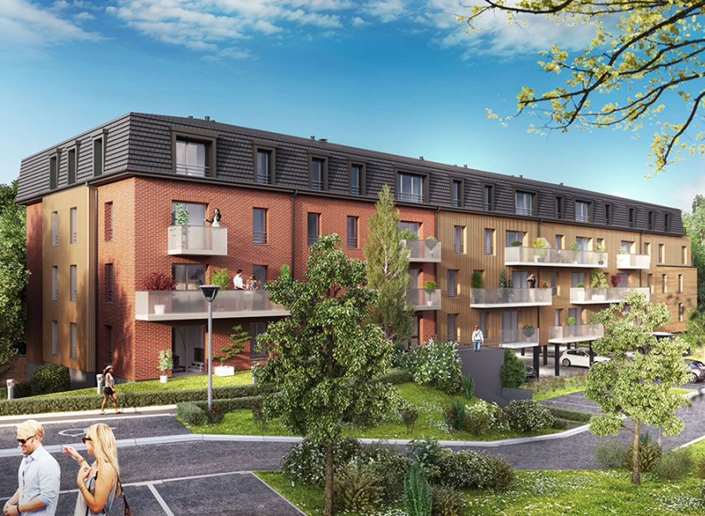 Projet appartement neuf hainaut for Projet appartement