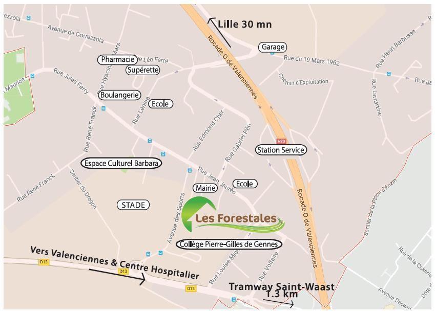 Valenciennes / Petite-Forêt (59494) – Les Forestales
