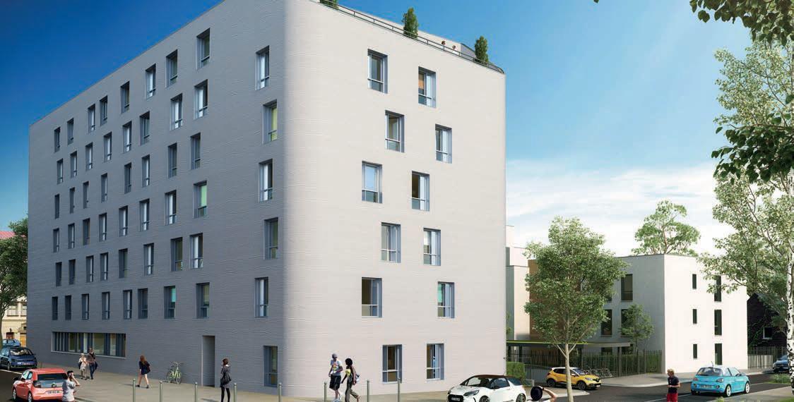 Tout proche des écoles et facultés de Lille - opportunité investisseur Résidence étudiante gérée en meublés - Studios à partir de 73 947 € HT - Livraison  rentrée 2019 –