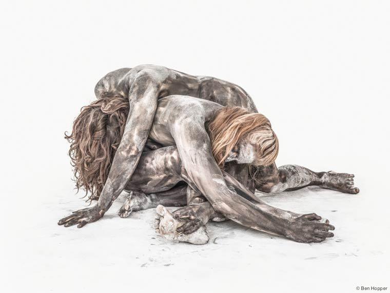Les sculptures vivantes de Ben Hopper.