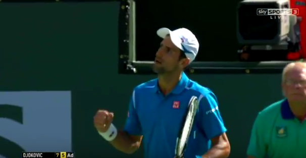 Novak Djokovic/ Capture YouTube