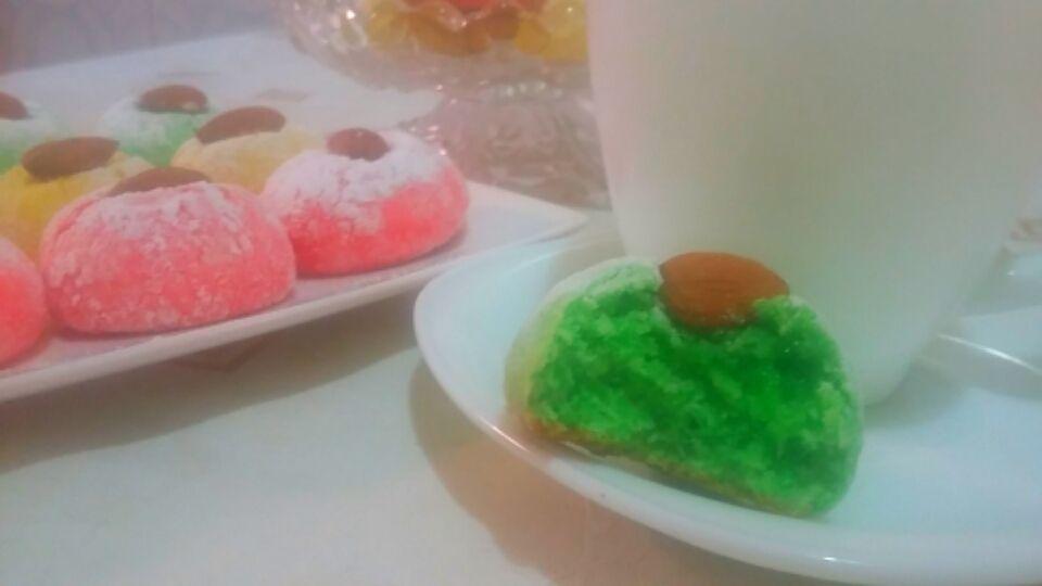 Gâteau au noix de coco......Mechakek...gâteau algérien. ...مشقق بجوز الهند