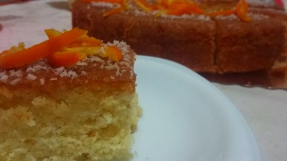 Gâteau à l'orange. .....حلوى بالبرتقال