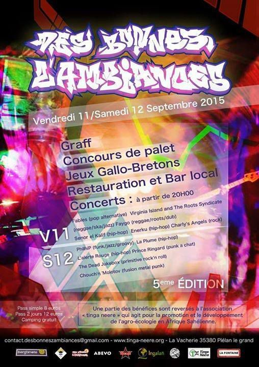"""Festival """"Des Bonnes Z'ambiances"""" #5"""