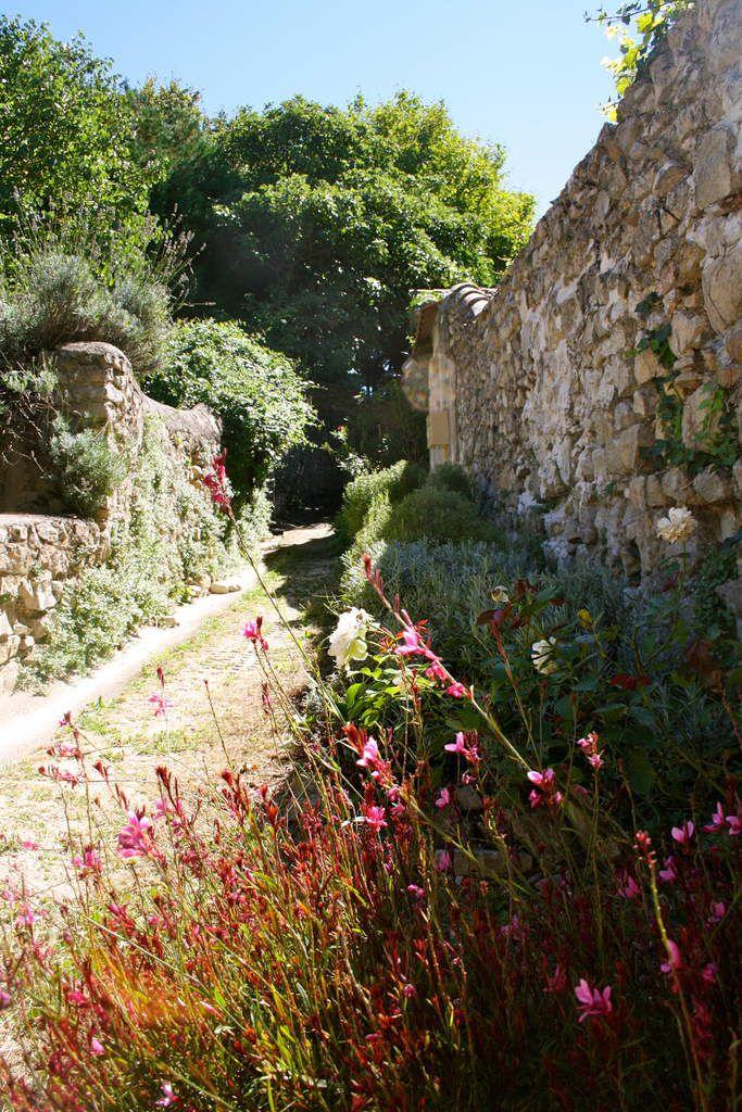 Des fleurs et encore des fleurs qui habillent les ruelles du village.