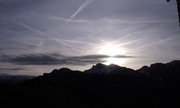 Le ¨Pt de Ralliement des consciences des chevaliers du Christ : le Mont Billat Haute Savoie
