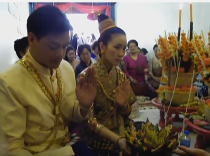 Contemporary Lao Wedding in Luang Prabang