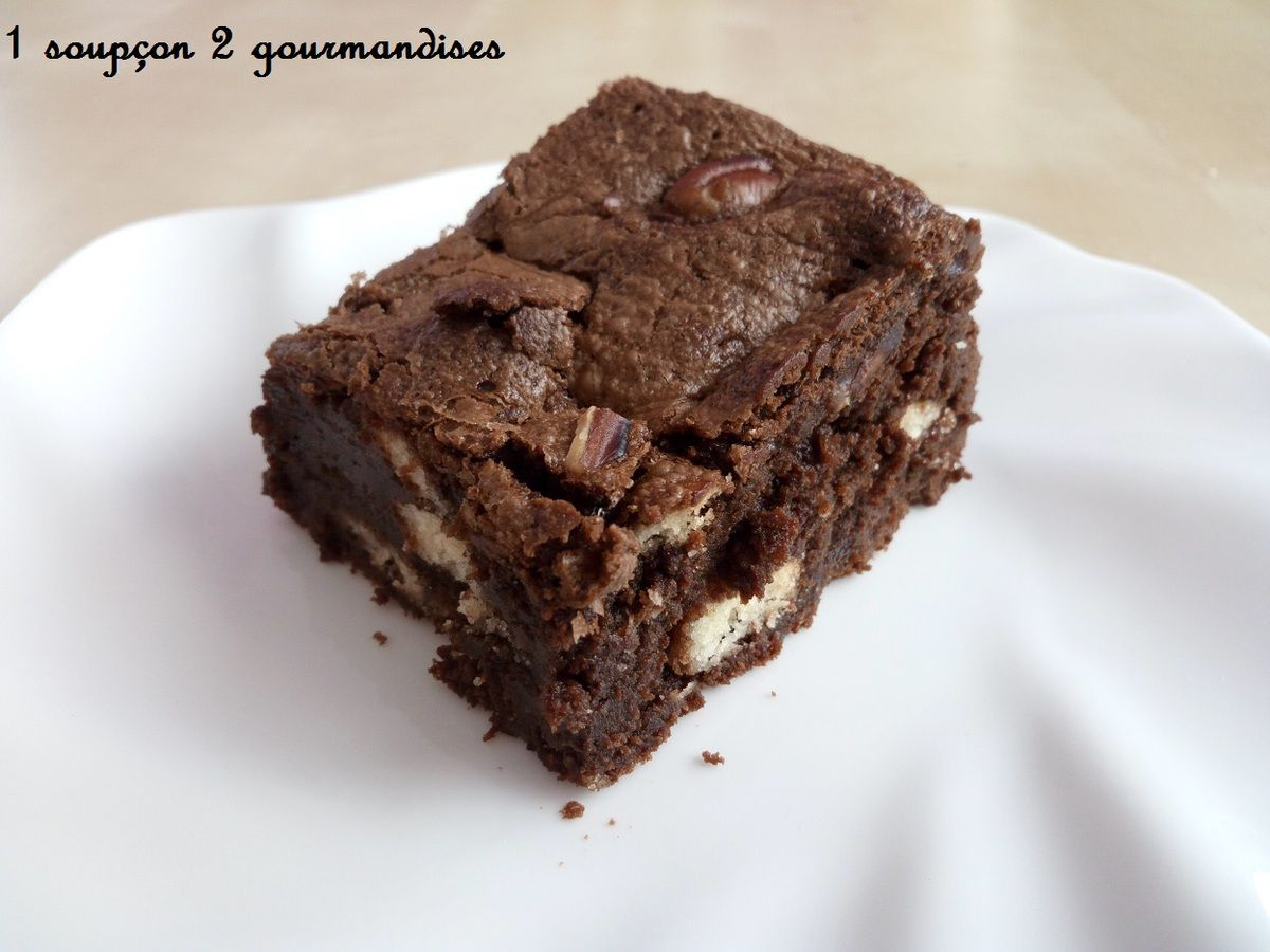 Brownies aux Galettes Saint Michel