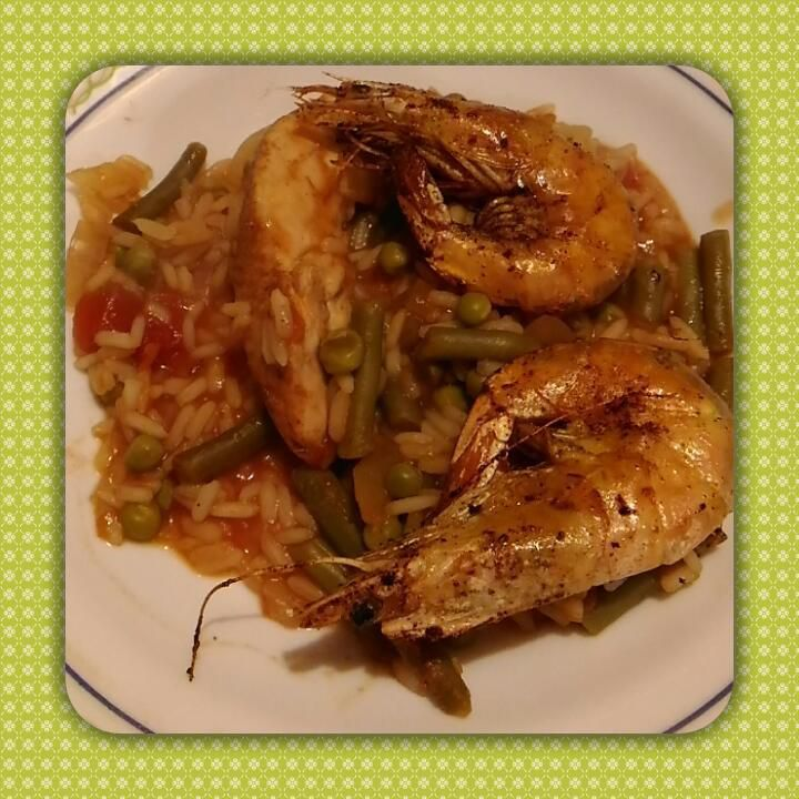 Jambalaya poulet/crevette