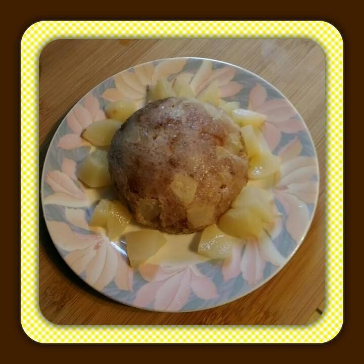 Bowlcake tapioca poire noix
