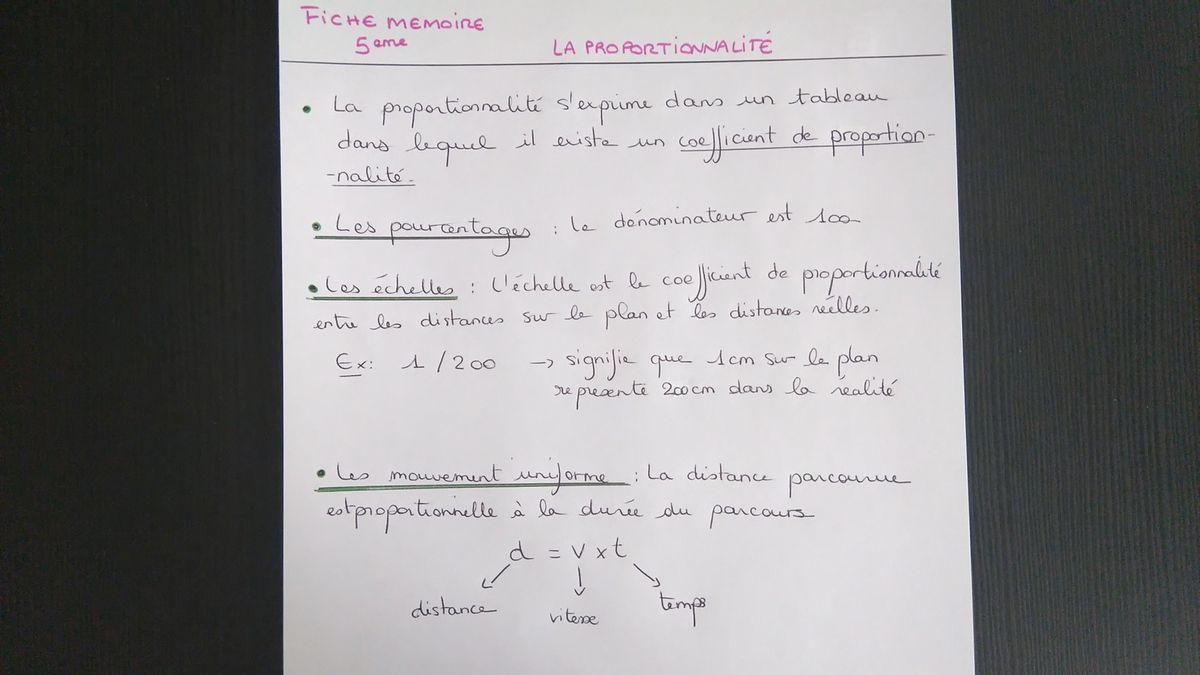 La proportionnalité et les conversions de durées