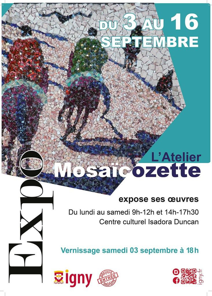 Affiche expo Igny