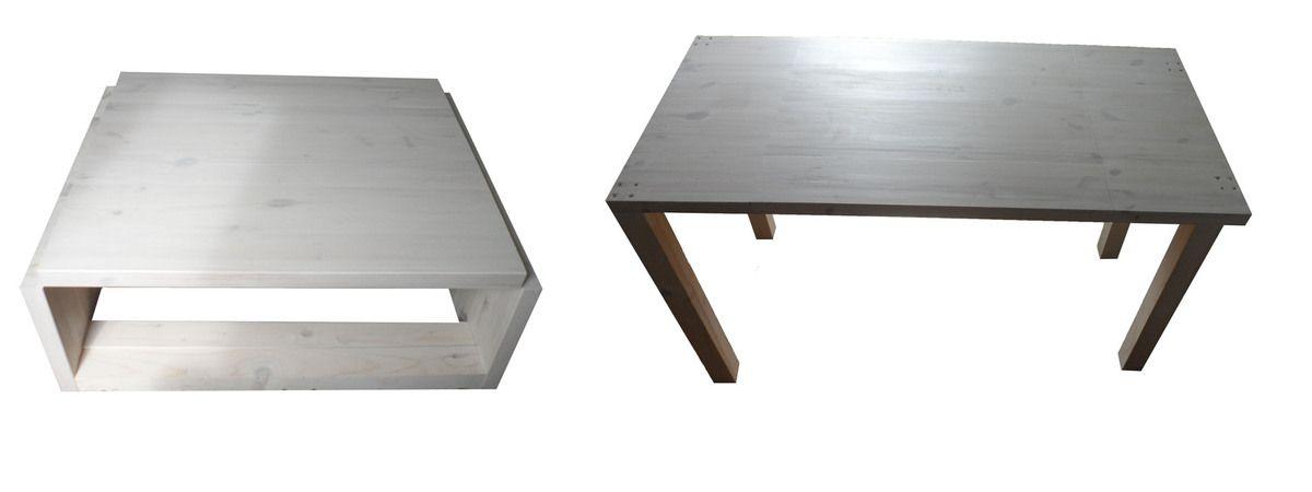 Table basse convertible modulable relevable en hauteur Jet'studio