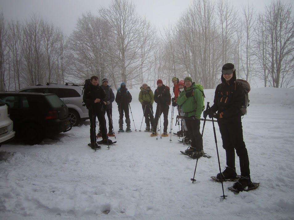 Au départ des Bugnenets. Photo de Laurent.